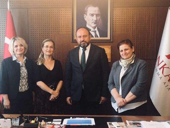 MÜKAD'dan Ankara Kalkınma Ajansına Ziyaret