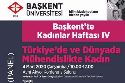 MÜKAD 8 Mart'ta Başkent Üniversitesi'nde