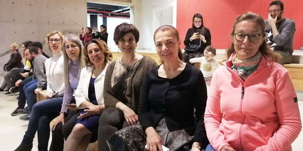 8 Mart'ta İzmir İl Temsilcimiz İzmir Mimarlık Merkezindeydi