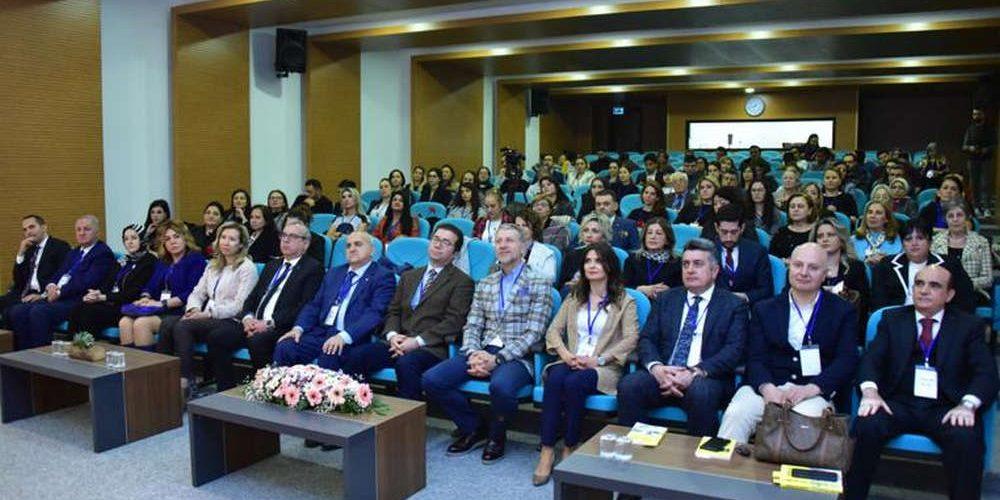 8 Mart'ta Başkan Yardımcımız Züleyha Özcan Ostim Teknik Üniversitesindeydi